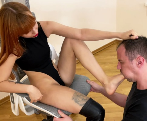 Slave Humiliation by Sexy and Vicious Princess Kira With All Kinds Of Femdom Disciplines