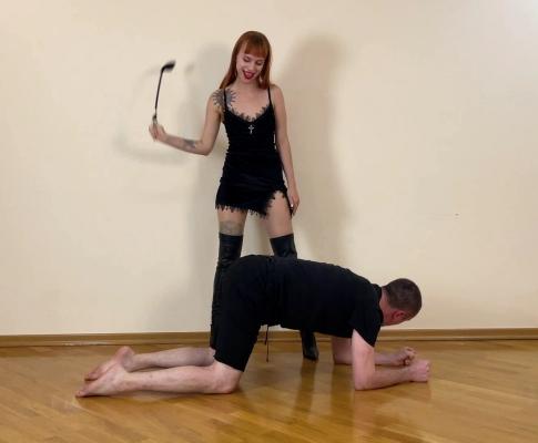 Sadistic Gothic Mistress Kira - Hard Female Domination